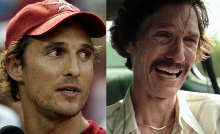 Matthew McConaughey e la perdita di peso