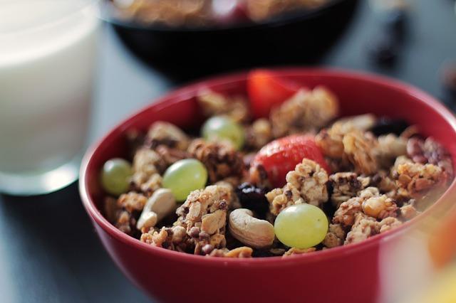 Barrette proteiche: 1. Barretta di granola fatta in casa